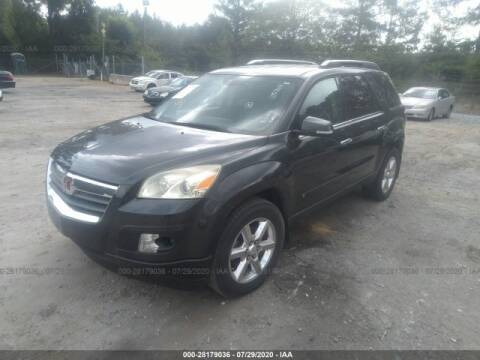 2007 Saturn Outlook for sale at Encore Auto Parts & Recycling in Jefferson GA