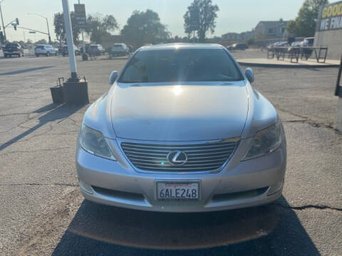 2008 Lexus LS 460 for sale at Global Auto Group in Fontana CA