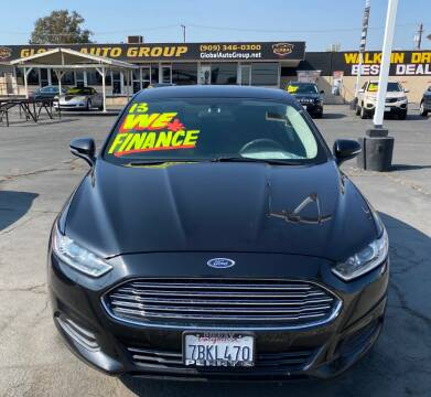 2013 Ford Fusion for sale at Global Auto Group in Fontana CA
