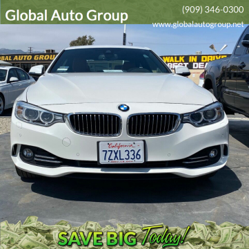 2017 BMW 4 Series for sale at Global Auto Group in Fontana CA