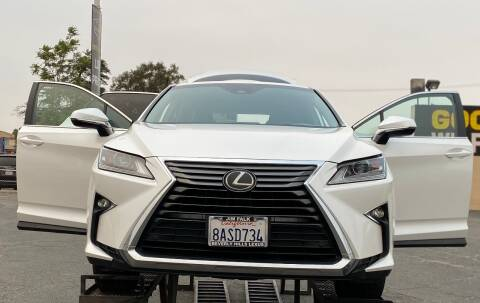 2017 Lexus RX 350 for sale at Global Auto Group in Fontana CA