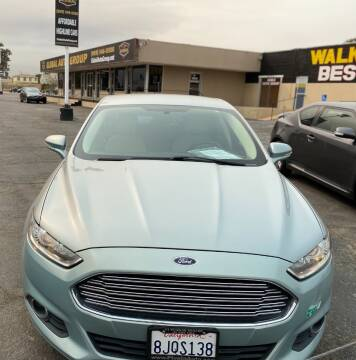 2013 Ford Fusion Energi for sale at Global Auto Group in Fontana CA