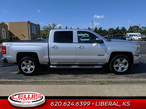 2017 Chevrolet Silverado 1500 for sale at Lewis Chevrolet Buick Cadillac of Liberal in Liberal KS