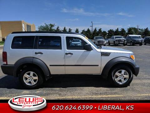 2008 Dodge Nitro for sale at Lewis Chevrolet Buick Cadillac of Liberal in Liberal KS