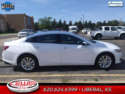 2020 Chevrolet Malibu for sale at Lewis Chevrolet Buick Cadillac of Liberal in Liberal KS
