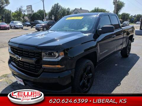 2018 Chevrolet Silverado 1500 for sale at Lewis Chevrolet Buick Cadillac of Liberal in Liberal KS