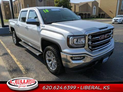 2018 GMC Sierra 1500 for sale at Lewis Chevrolet Buick Cadillac of Liberal in Liberal KS