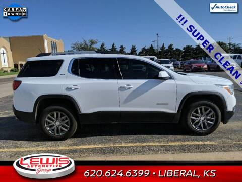 2019 GMC Acadia for sale at Lewis Chevrolet Buick Cadillac of Liberal in Liberal KS