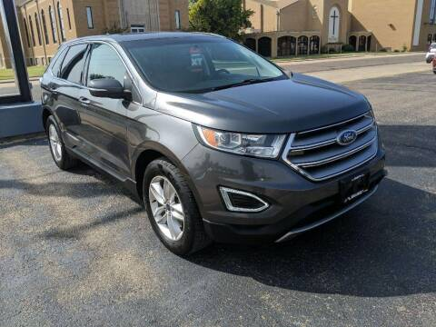 2017 Ford Edge for sale at Lewis Chevrolet Buick Cadillac of Liberal in Liberal KS