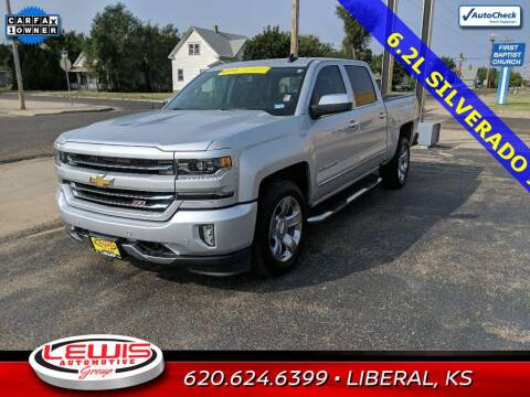 2016 Chevrolet Silverado 1500 for sale at Lewis Chevrolet Buick Cadillac of Liberal in Liberal KS