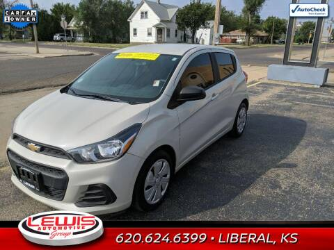 2018 Chevrolet Spark for sale at Lewis Chevrolet Buick Cadillac of Liberal in Liberal KS