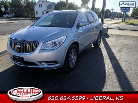 2017 Buick Enclave for sale at Lewis Chevrolet Buick Cadillac of Liberal in Liberal KS