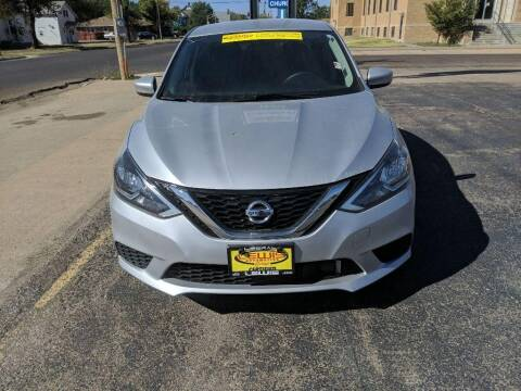 2019 Nissan Sentra for sale at Lewis Chevrolet Buick Cadillac of Liberal in Liberal KS