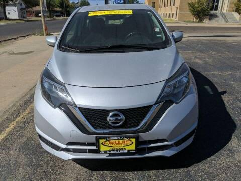 2019 Nissan Versa Note for sale at Lewis Chevrolet Buick Cadillac of Liberal in Liberal KS