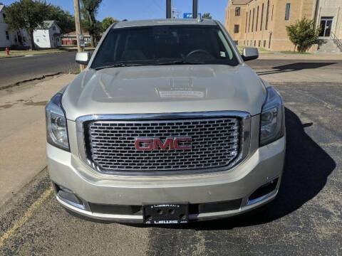 2016 GMC Yukon XL for sale at Lewis Chevrolet Buick Cadillac of Liberal in Liberal KS