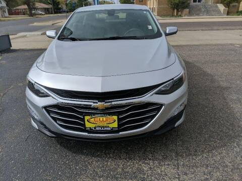 2019 Chevrolet Malibu for sale at Lewis Chevrolet Buick Cadillac of Liberal in Liberal KS