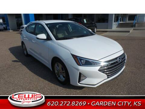 2019 Hyundai Elantra for sale at Lewis Chevrolet Buick Cadillac of Liberal in Liberal KS