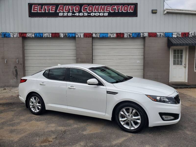 2013 Kia Optima for sale at Elite Auto Connection in Conover NC