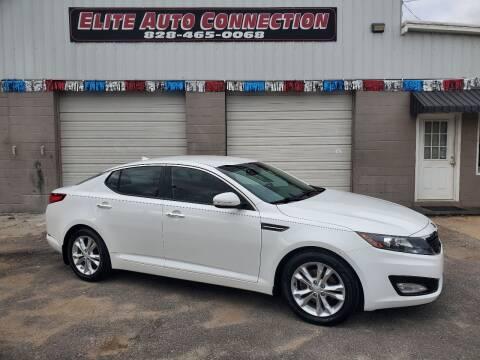 2013 Kia Optima for sale at Elite Auto Connection in Conover NC