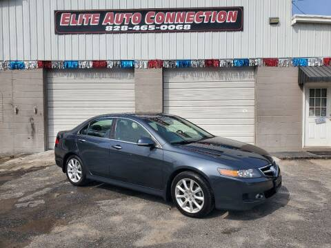 2007 Acura TSX for sale at Elite Auto Connection in Conover NC