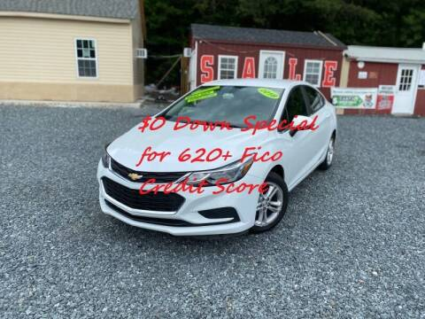 2018 Chevrolet Cruze for sale at A&M Auto Sale in Edgewood MD