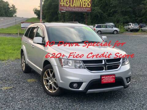 2014 Dodge Journey for sale at A&M Auto Sale in Edgewood MD