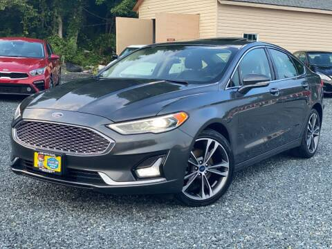2019 Ford Fusion for sale at A&M Auto Sale in Edgewood MD