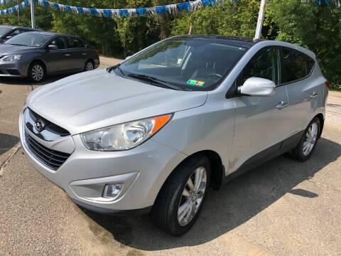 2010 Hyundai Tucson for sale at Matt Jones Preowned Auto in Wheeling WV