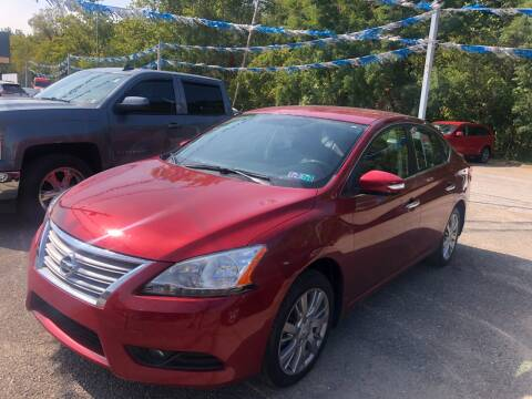 2014 Nissan Sentra for sale at Matt Jones Preowned Auto in Wheeling WV