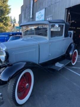 1930 Ford Model A for sale at Route 40 Classics in Citrus Heights CA