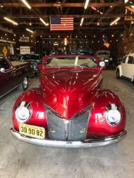1940 Mercury Custom for sale at Route 40 Classics in Citrus Heights CA