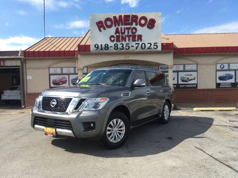 2017 Nissan Armada for sale at Romeros Auto Center in Tulsa OK