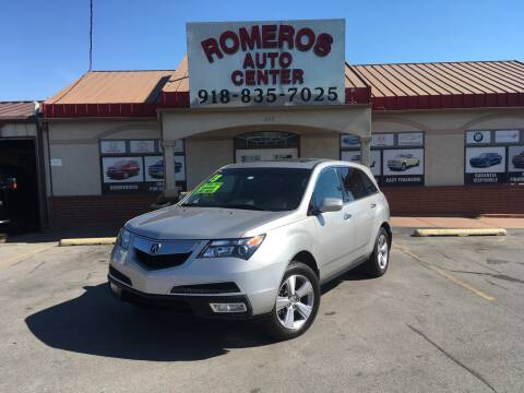 2013 Acura MDX for sale at Romeros Auto Center in Tulsa OK