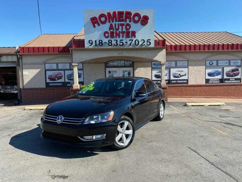 2015 Volkswagen Passat for sale at Romeros Auto Center in Tulsa OK