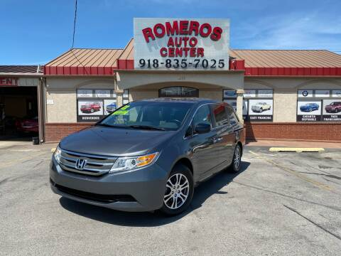 2012 Honda Odyssey for sale at Romeros Auto Center in Tulsa OK