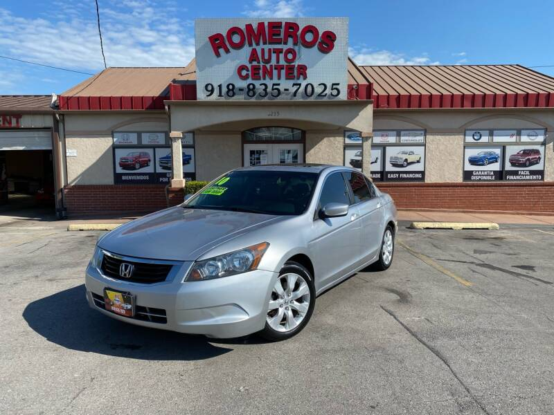 2010 Honda Accord for sale at Romeros Auto Center in Tulsa OK