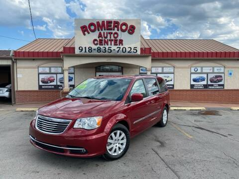 2014 Chrysler Town and Country for sale at Romeros Auto Center in Tulsa OK