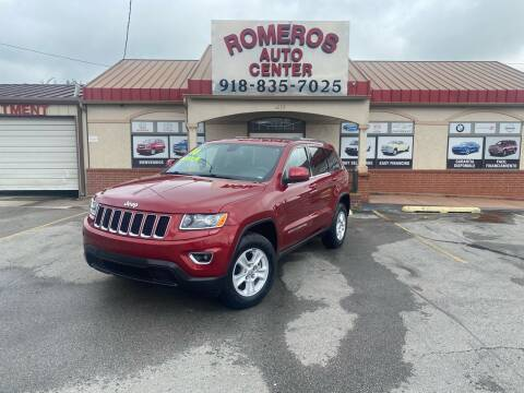 2014 Jeep Grand Cherokee for sale at Romeros Auto Center in Tulsa OK