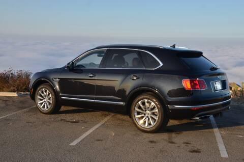2017 Bentley Bentayga for sale at Urge to Drive LLC in Escondido CA
