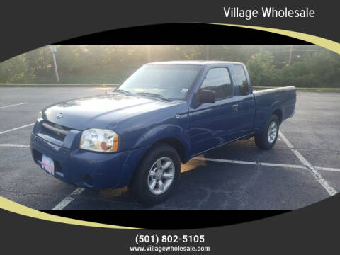 2001 Nissan Frontier for sale at Village Wholesale in Hot Springs Village AR