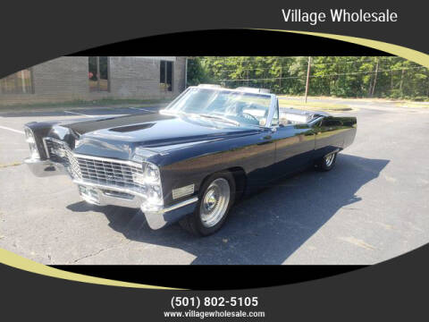1967 Cadillac DeVille for sale at Village Wholesale in Hot Springs Village AR
