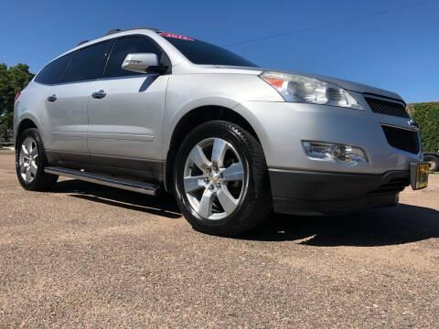 2012 Chevrolet Traverse for sale at El Tucanazo Auto Sales in Grand Island NE