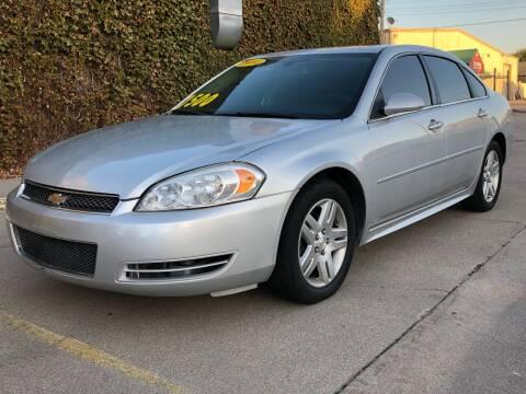 2014 Chevrolet Impala Limited for sale at El Tucanazo Auto Sales in Grand Island NE
