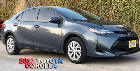 2017 Toyota Corolla for sale at El Tucanazo Auto Sales in Grand Island NE