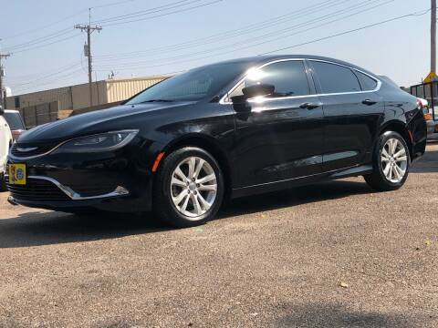 2016 Chrysler 200 for sale at El Tucanazo Auto Sales in Grand Island NE