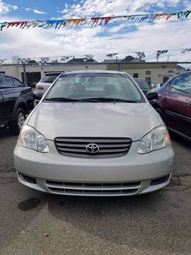 2003 Toyota Corolla for sale in Fall River, MA