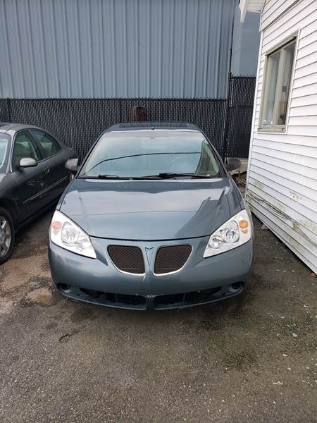 2006 Pontiac G6 Gtp 4dr Sedan In Fall River Ma Bob