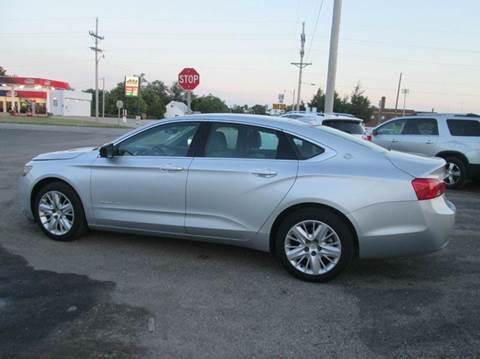 2015 Chevrolet Impala for sale in Downs, KS