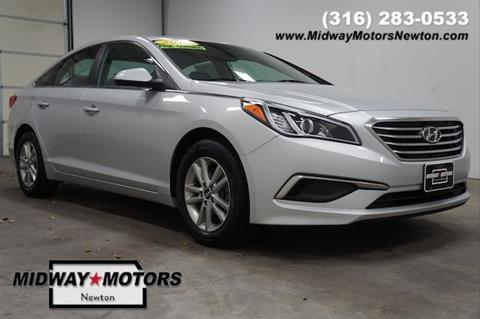 2017 Hyundai Sonata for sale in Newton, KS