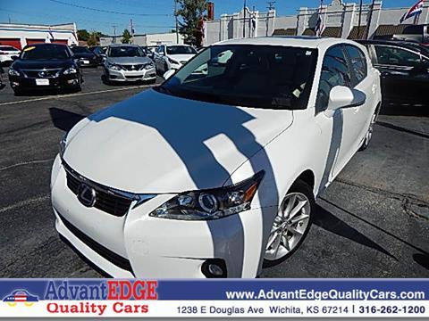 2013 Lexus CT 200h for sale in Wichita, KS